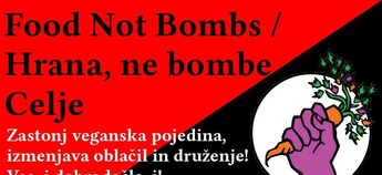 Hrana, ne bombe / Food Not Bombs - Celje