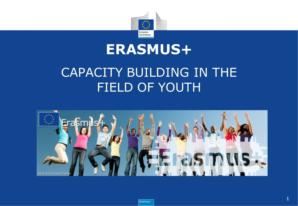 "Centraliziran razpis Erasmus + ""Capacity building in the field of youth"""