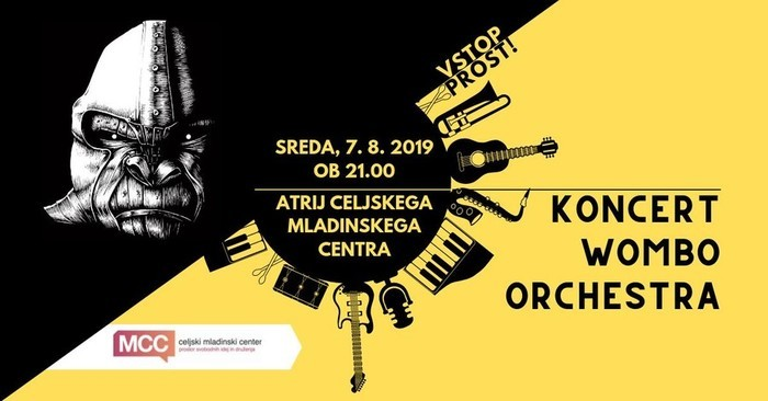 Koncert Womba orchestra