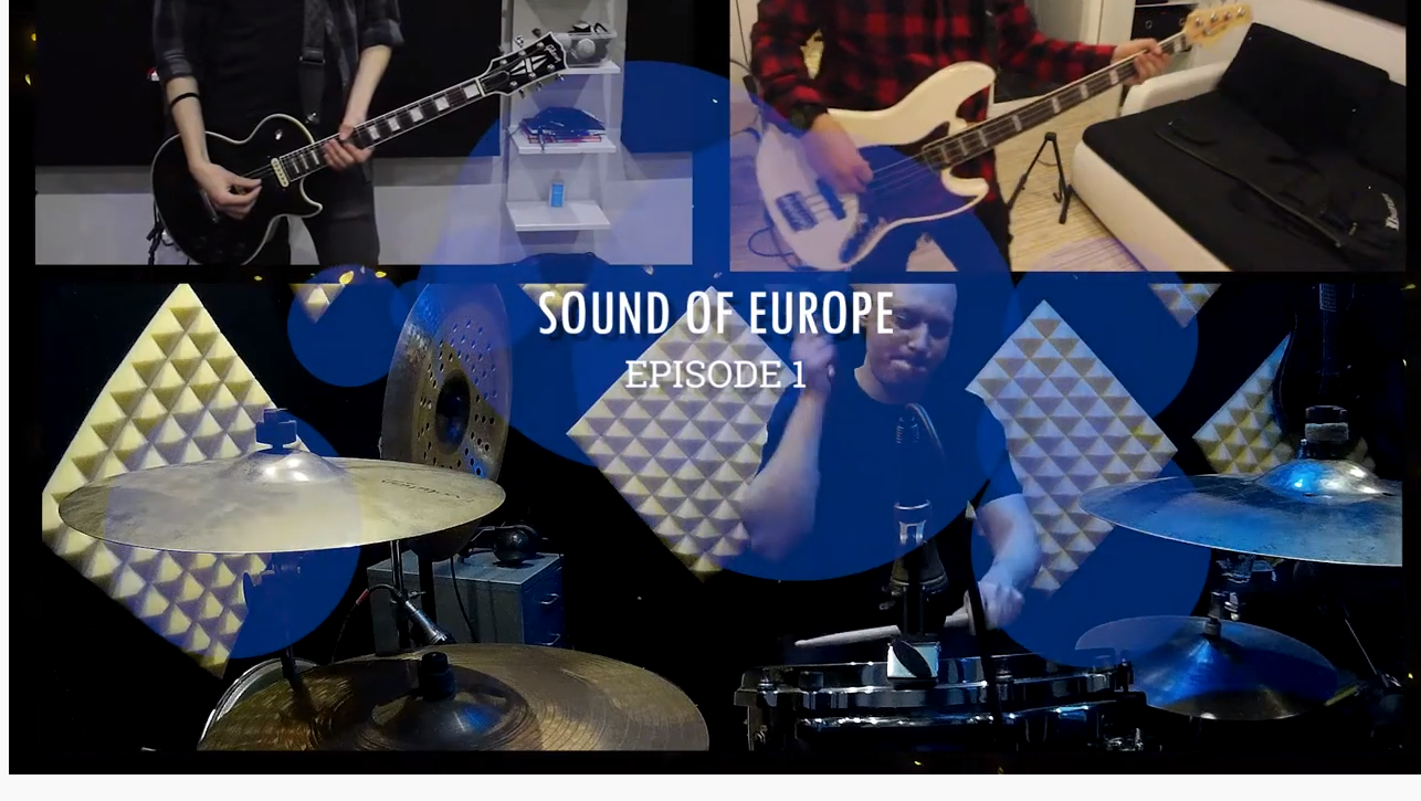 Online koncert - Sound of Europe