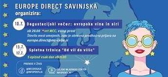 Europe Direct Savinjska pripravlja pester poletni program