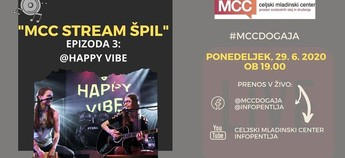 MCC stream ŠPIL - Happy Vibe